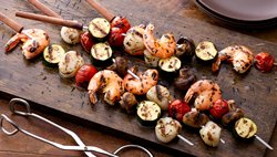 Grilled Shrimp and Scallop Kabobs