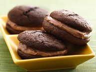 Triple Chocolate Stout Whoopie Pies