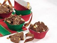 Milk Chocolate-Peanut Butter Bark