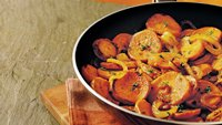 Gluten-Free Caramelized Onion and Sweet Potato Skillet