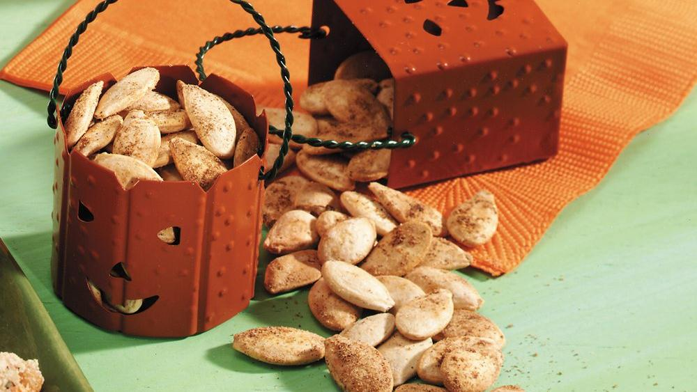 Peppy Roasted Pumpkin Seeds