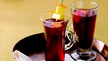 Spiced Pomegranate Sipper