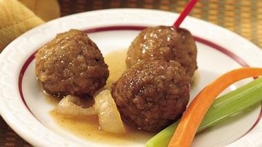 Slow-Cooker Bavarian Cocktail Meatballs