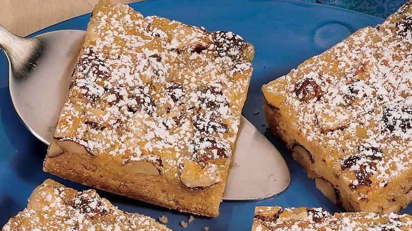 Orangeburst Cookie Bars