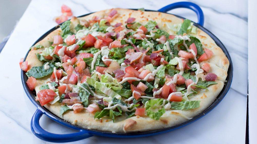 Honey Balsamic BLT Pizza