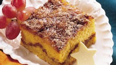 Pumpkin-Maple Coffee Cake
