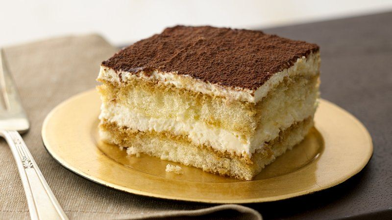 Tiramisu recipe from Betty Crocker