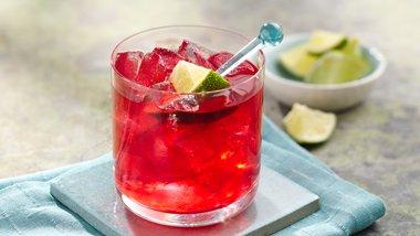 Hibiscus Lime Margarita