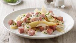 Grilled Ham and Potatoes Au Gratin Foil Pack