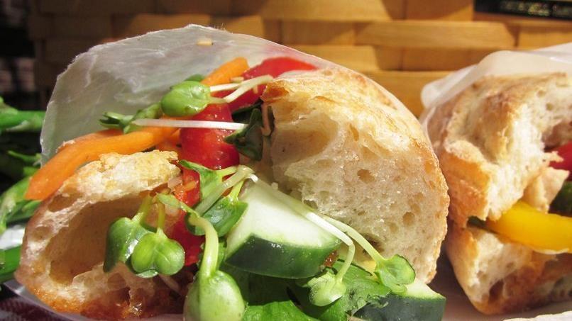 Vietnamese Picnic Sandwich (Banh mi)