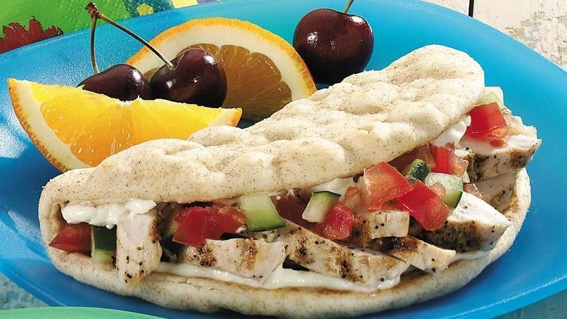 Chicken Folds with Garlic Mayonnaise