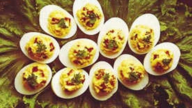 Zesty Deviled Eggs