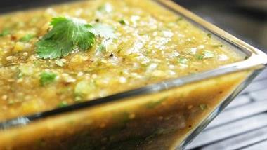 Roasted Tomatillo Salsa (Salsa Verde)