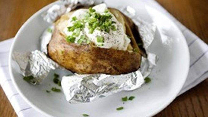 Slow-Cooker Baked Potatoes