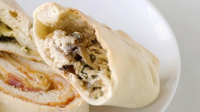 Sausage and Ricotta Calzones