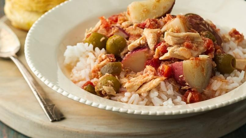 Tuna with Potatoes and Olives | QueRicaVida