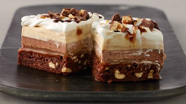Snickers™ Ice Cream Cake Bars