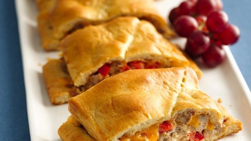 Grands! Crescent Cheesy Sausage Stromboli