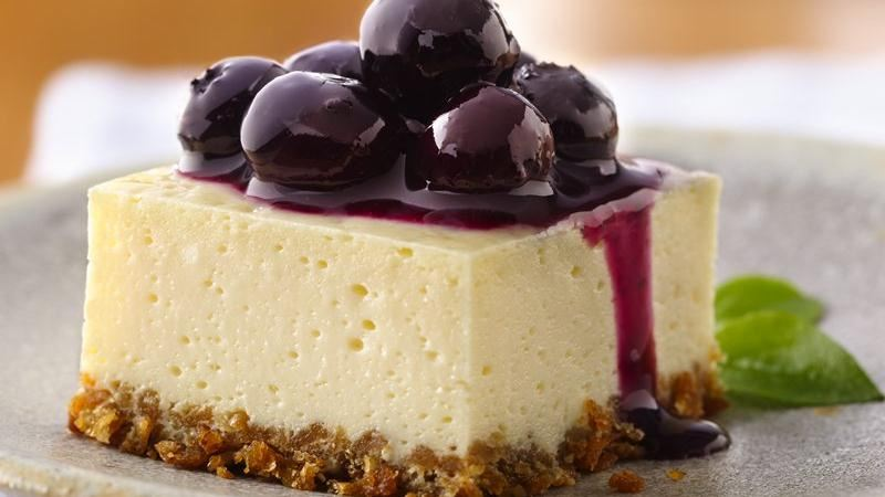 Blueberry Cheesecake Squares recipe from Betty Crocker