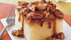 Maple Bacon Upside Down Cake
