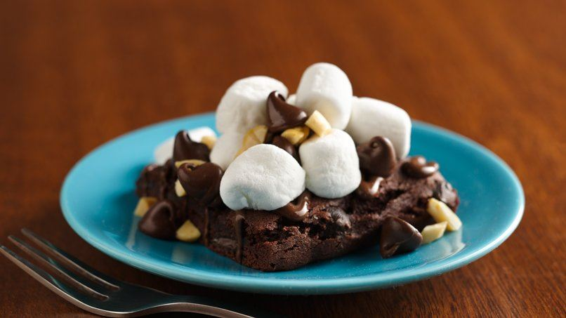 Individual S'more Brownie