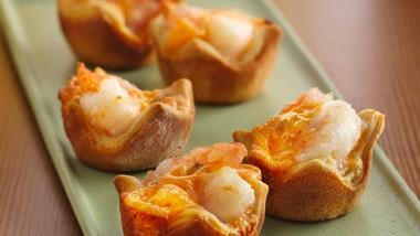 Sweet and Spicy Shrimp Cups