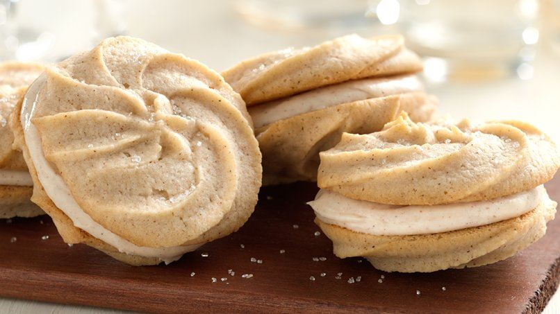 Cream Cheese-Spice Sandwich Cookies