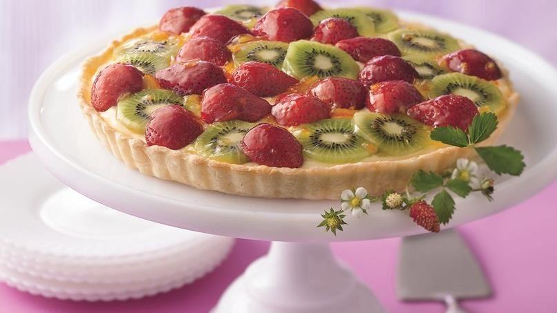 Strawberry-Kiwi Tart