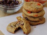 Double PB Halloween Cookies