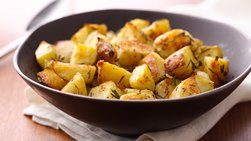 Grilled Rosemary-Onion Potatoes