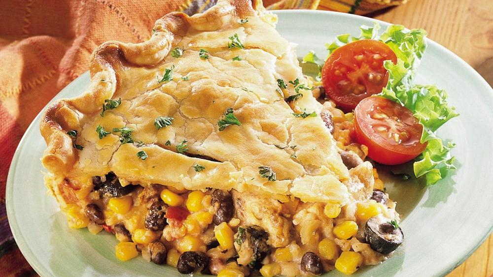 Southwestern Chicken Pie