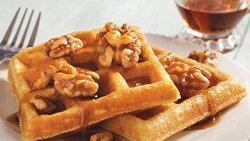 Cornmeal Belgian Waffles
