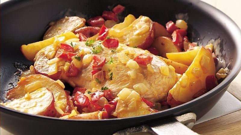 Buffalo-Style Turkey Tenderloin recipe from Betty Crocker