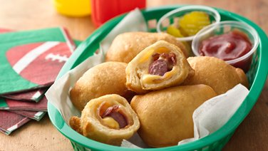 Bacon and Cheese Crescent Dogs