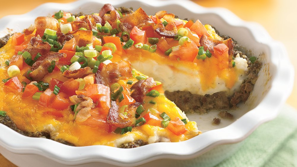 Ground Beef and Twice-Baked Potato Pie recipe from Pillsbury.com
