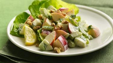 Apple and Celery Salad with Creamy Lemon Dressing