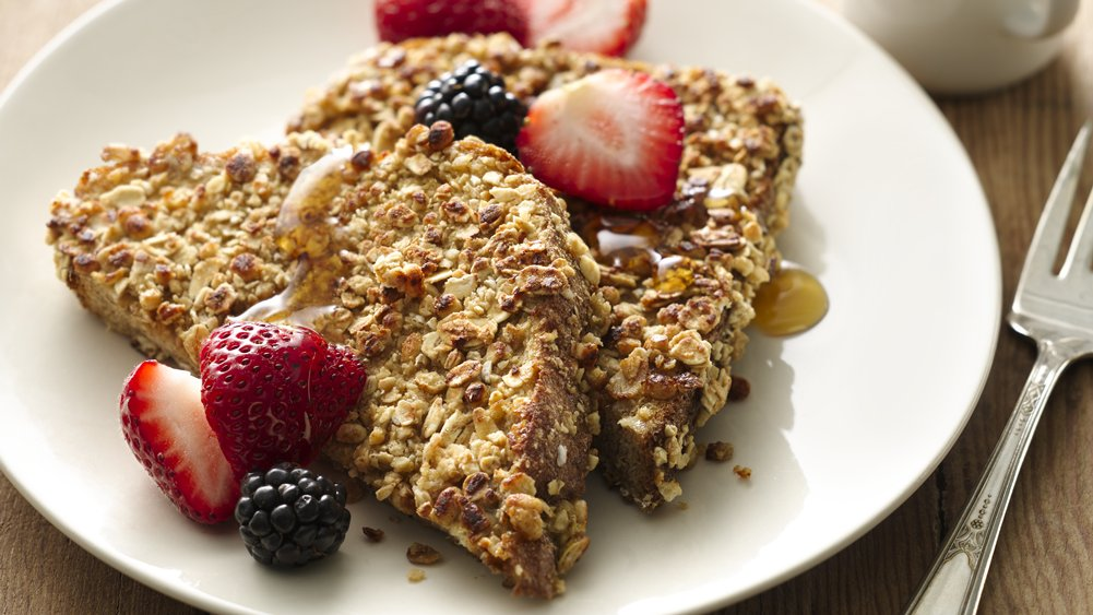 Crunchy Granola French Toast