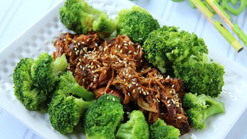 Slow-Cooker Sesame-Garlic Chicken