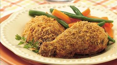Crispy Chicken with Fresh Herbs