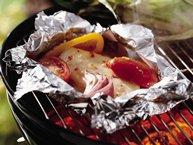 Grilled Italian Chicken Foil Packs