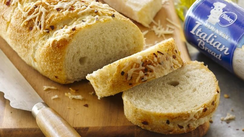 Garlic with Parmesan and Red Pepper Loaf