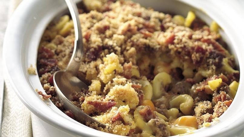 Bacon Double Cheeseburger Casserole