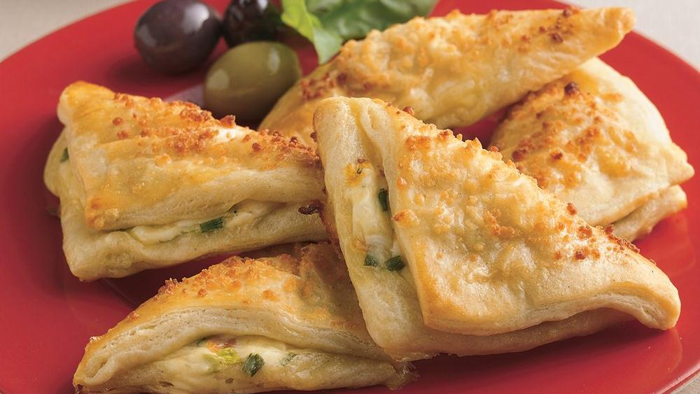 Cheese Crescent Triangles recipe from Pillsbury.com