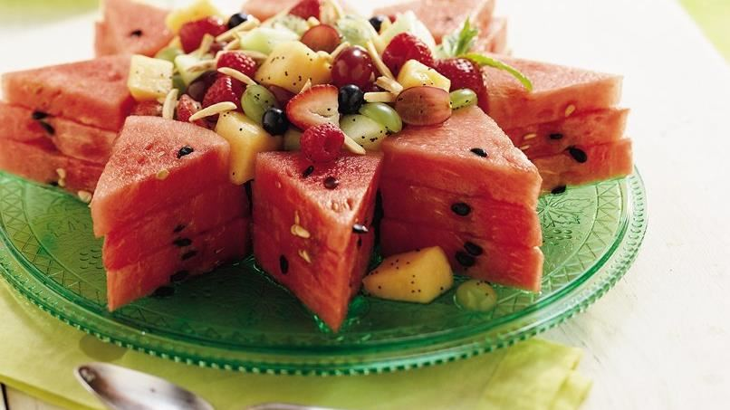 Gluten-Free Honey Lime Fruit Salad