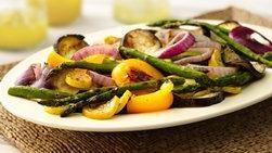 Verduras de Verano Asadas con Ajo