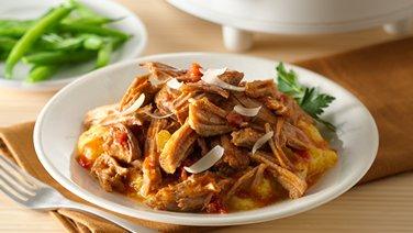 Slow-Cooker Italian Shredded Pork