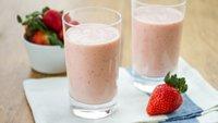 Strawberry-Orange Crème Smoothies