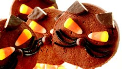 Black Cat Cookie Pops