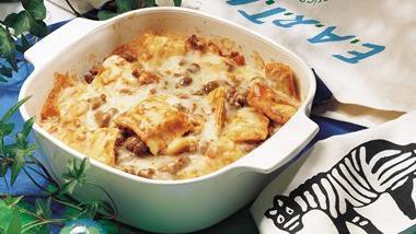 ... and meatballs do ahead ravioli sausage lasagna impossibly easy mac and