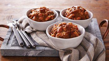 Slow-Cooker Hearty Baked Beans